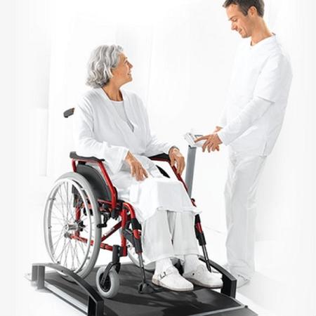 Wheel Chair Scale seca 664 digital wheelchair scale w/ wireless transmission