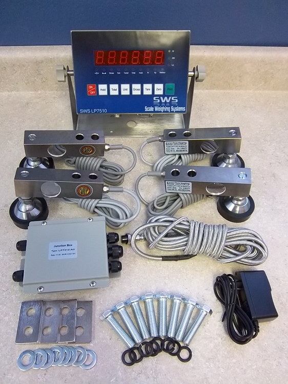Sws Scale Weighing Systems Lp7720 Floor Scale Kit
