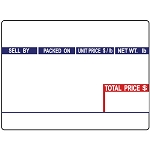 Globe GSP30A, E11 UPC Price Computing Scale Labels