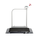 seca 676 (6761321108) Digital Wheelchair  Scale w/ Handrail & Wireless Transmission. Promotional Price, Ends 04/30/18