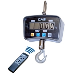 CAS IE-1000C, LCD Crane Scale, 1000 lbs x 0.5 lbs With Remote