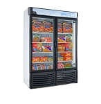 Tor-rey CV-32 Vertical Two Glass Door Display Freezer