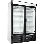 TOR-REY R36 Glass Two Door Display Cooler Refrigerator