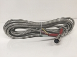 Scales Weighing Systems, Heavy Duty, Vinyl Coated Steel Braided Replacement Cable w/Quick Disconnect