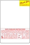 Mettler Toledo 8442 3.3 UPC, Ingredient, Safe Handling Scale Labels