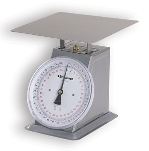 Brecknell 250-8 Mechanical Bench Scale -  BS-250-8 - 66 lb x 4oz