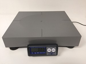 Mettler Toledo PS60, 150 lb x 0.05 lb Shipping Scales with ABS Platter - Used