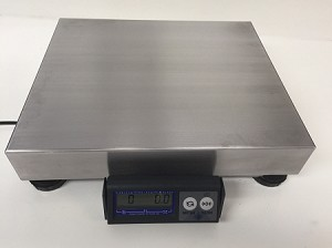 Mettler Toledo PS6L Shipping Scale,150lb x .1oz, SS Platter, PS6LU1101-Used
