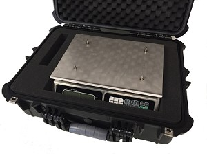 Tor-Rey LPC-40L, 40 x .01 lb Portable Price Computing Scale with Protective Carrying Case