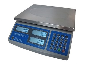 Scale Weighing Systems, PCS-60, Dual Range Price Computing Scale