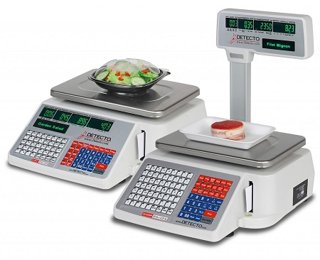 Detecto Label Printing Scales