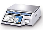 CAS CL5000B-60 Price Computing Label Printing Scale with Label Printer