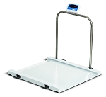 Brecknell Scales MS1000 Bariatric/Handrail Scale - BS-MS1000 - 1,000 lb x 0.5 lb