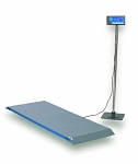Brecknell PS1000 Series Floor/Veterinary Scale - BS-PS1000  - 1000 Lb x 0.5