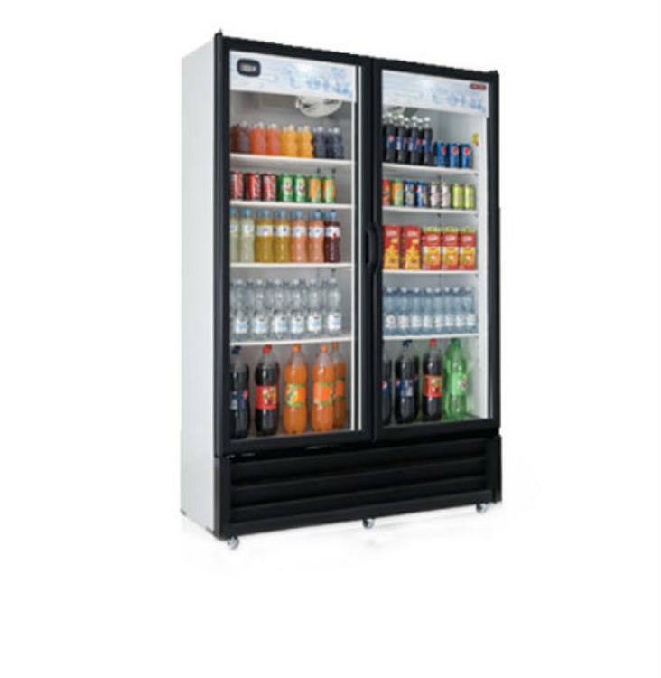 Tei Vrd28 Tor Rey Vrd28 Glass Two Door Display Cooler
