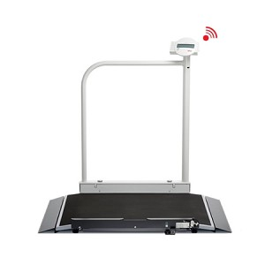 Seca 676 Digital Wheelchair  Scale w/ Handrail & Wireless Transmission (6761321108)