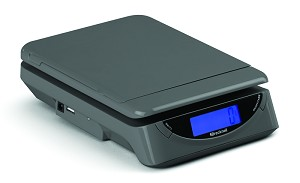 Brecknell PS25, 25 lb x .2 lb Electronic Postal/Portion Scale (816965005239)