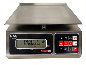 Tor-rey LEQ 10/20-HS Portioning Bench Scales, 20 lb x 0.005 lbs