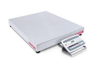 Ohaus D52XW50WQL5 Low Profile Wash Down Bench Scale, 100 lb x 0.02 lb, (30461466)