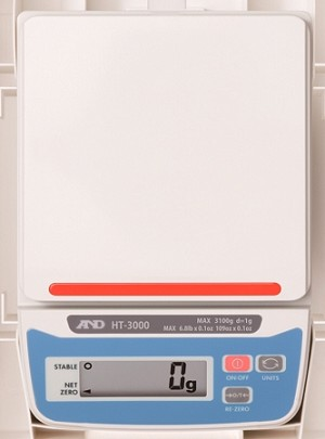 A&D HT-3000 - HT Series Compact Scale 3100g x 1g