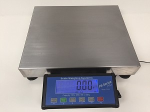 SWS-PS-60-Plus Shipping Scale, 150 lbs x .05 lbs - Used
